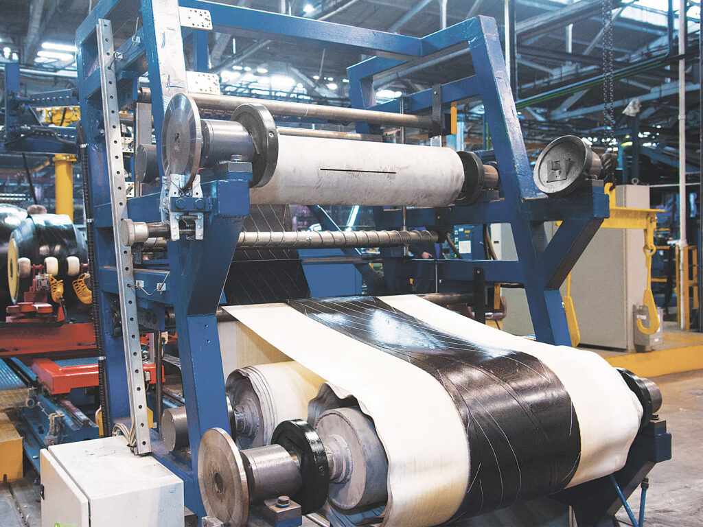 Bagginess and wrinkles are some results of a poor liner Tension Control. Montalvo Tension Control