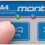 a4 amplifier Push button calibration & zero-ing