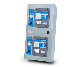 Dual U4 Tension Control Cabinet with Splice