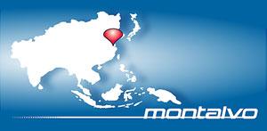 Montalvo Asia Map