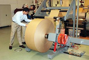 Installation at Fischer Paper