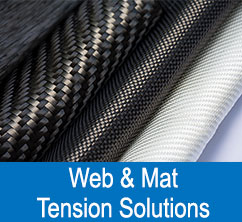 composites web and mat tension control solutions
